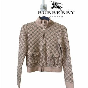 Burberry Checkered Trendy Comfy Jacket